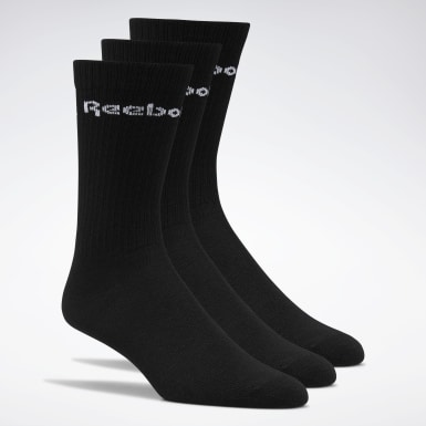 Yoga Black Active Core Crew Socks 3 Pairs