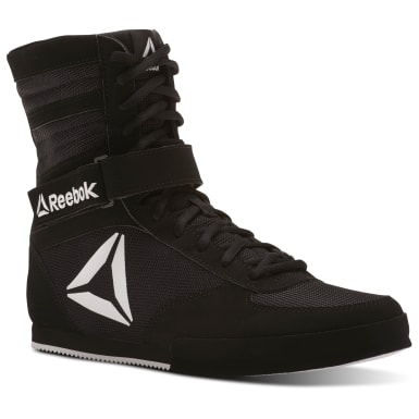 Men Combat Black Reebok Boxing Boot