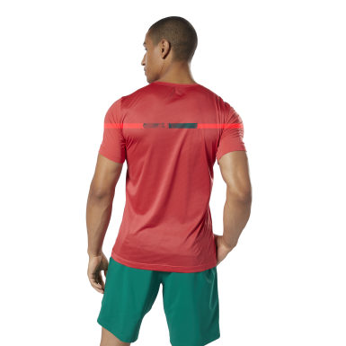 Remera estampada Workout Ready ACTIVCHILL Rojo Hombre Fitness & Training