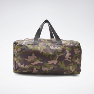 Training Grey Active Core Graphic Duffel Bag Medium