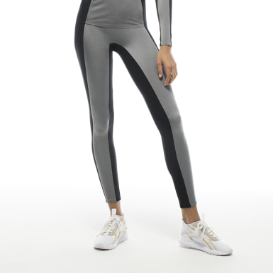 Women Training Silver VB Image Tights