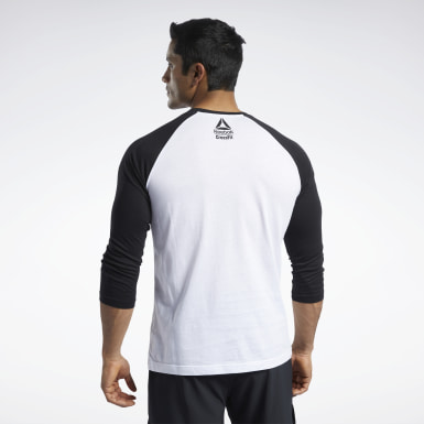 T-shirt Reebok CrossFit® FEF Raglan Blanc Hommes Cross Training