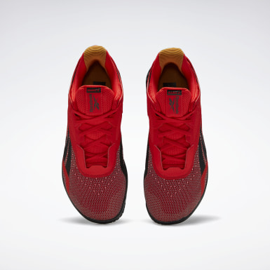 Men Training Red Reebok Nano X Shoes