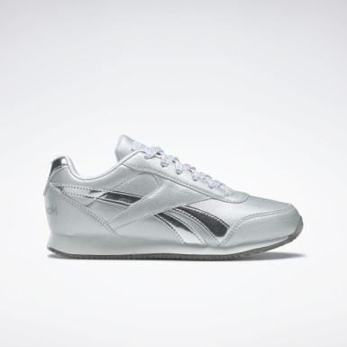 Girls Classics Silver Reebok Royal Classic Jogger 2 Shoes