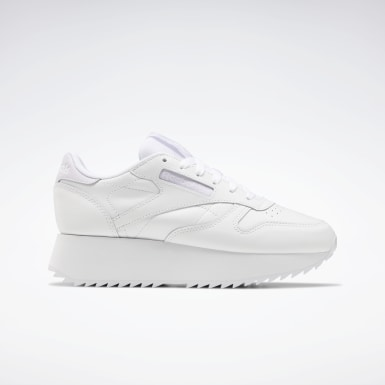 Classic Leather Double Blanco Mujer Classics