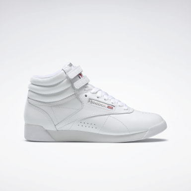 Women Classics White Freestyle Hi Women's Shoes