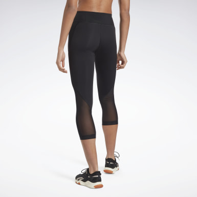 Women Fitness & Training Black Lux Perform 3/4 Leggings