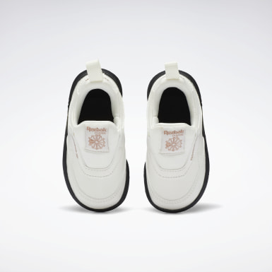 Kids Classics White Club C Cardi Slip on III Shoes - Toddler