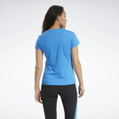 Women Training Blue Training Essentials Graphic Tee