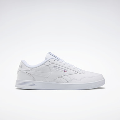 Men Classics White Reebok Club MEMT Wide Men's Shoes