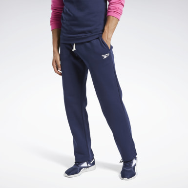 Men Training Blue Training Essentials Fleece Pants