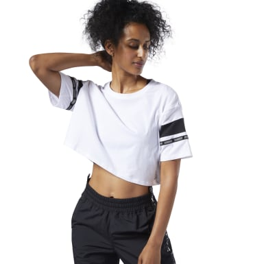 T-shirt Colorblock MYT Blanc Femmes Fitness & Training