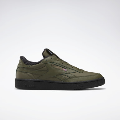 Men Classics Green Club C 85 Revenge Men's Shoes