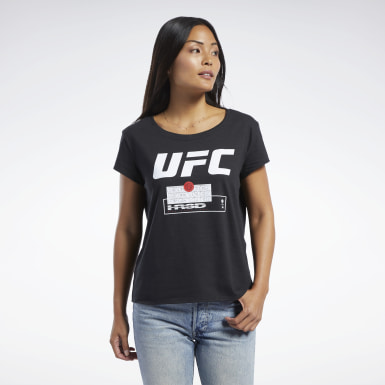 Women Combat Black UFC FG Fight Week Tee