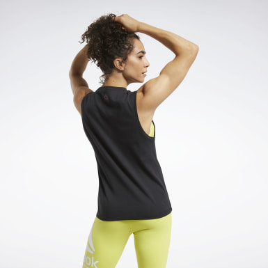 Dames Crosstraining Zwart CrossFit® Tidal Wave Tanktop