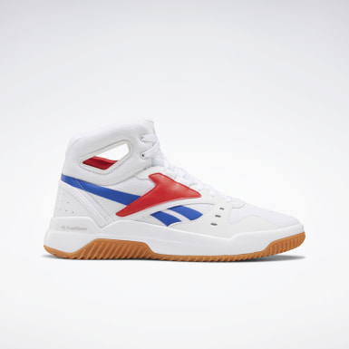 Men Basketball White BB OS Mid Men's Basketball Shoes