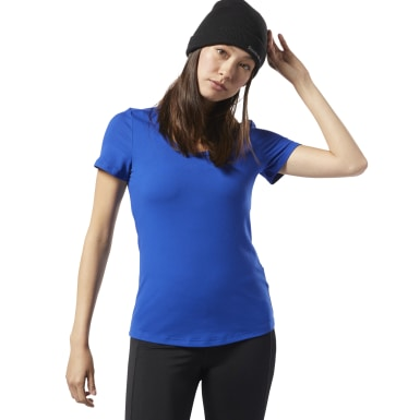 Dames Fitness & Training Blauw Workout Ready Speedwick T-shirt