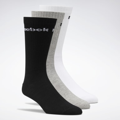 Yoga Active Core Crew Socks – 3er-Pack Weiß