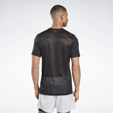 Men Trail Running Black Run ACTIVCHILL Graphic T-Shirt