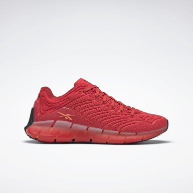 Lifestyle Red Zig Kinetica Shoes