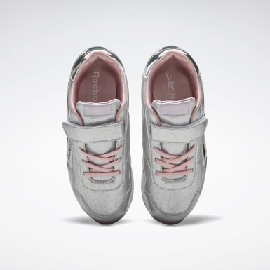 Girls Classics Silver Reebok Royal Classic Jogger 3 Shoes