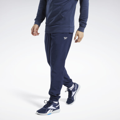Pantaloni Training Essentials Woven Cuffed Blu Uomo Hiking