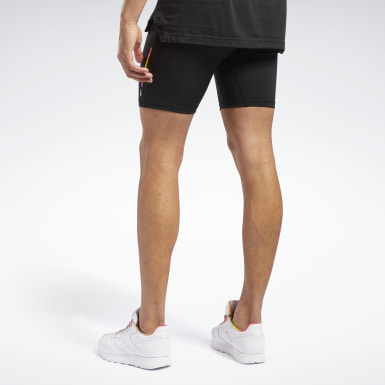 Lifestyle Zwart Pride Fitted Short