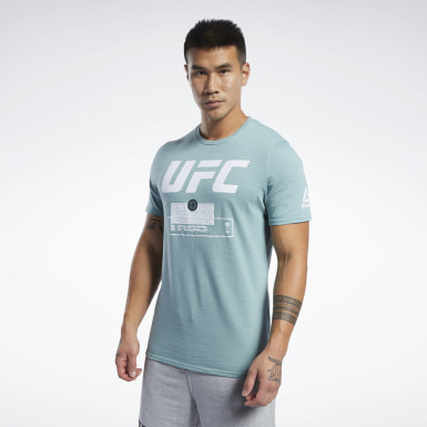 Remera UFC FG Fight Week Verde Hombre Artes Marciales Mixtas
