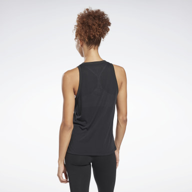 WOR SUP BL Tank Negro Mujer Fitness & Training