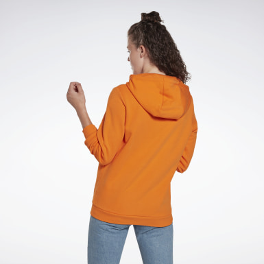 Frauen Classics Classics Big Logo Hoodie Orange