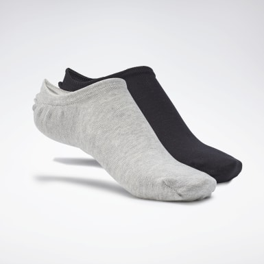Fitness & Training Active Foundation Invisible Socks – 3er-Pack Weiß