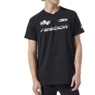 Men Classics Black Classics Advance Tee