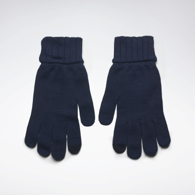 Gants en maille Active Foundation Bleu Fitness & Training