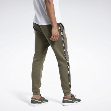 Männer Fitness & Training Training Essentials Tape Jogger Pants Grün