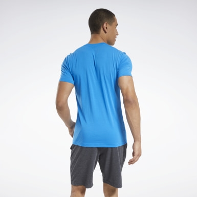 Men Yoga Blue Graphic Series Speedwick Tee