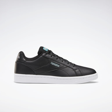 Women Classics Black Reebok Royal Complete CLN LX Shoes