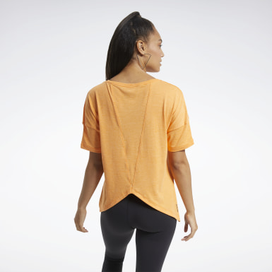 T-shirt ACTIVCHILL+COTTON Orange Femmes Entraînement