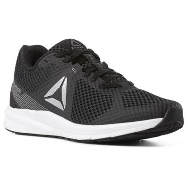 Women Running Black Reebok Endless Road Women's Running Shoes