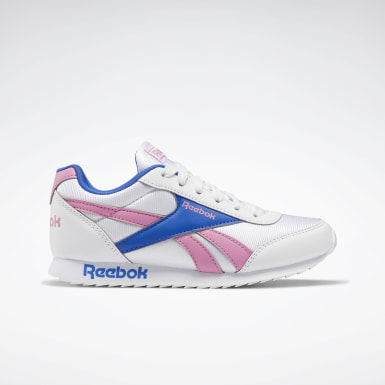 Girls Classics White Reebok Royal Classic Jogger 2 Shoes - Preschool