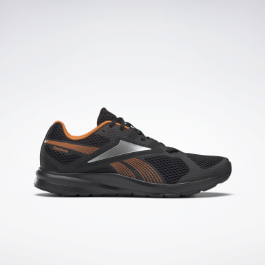Men Running Black Reebok Endless Road 2 Men's Running Shoes