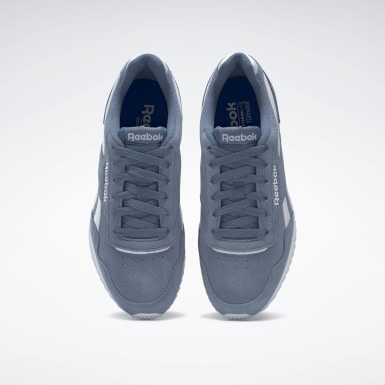 Men Classics Blue Reebok Royal Glide Ripple