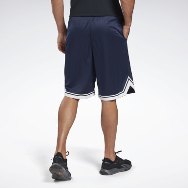 Short en mesh Workout Ready Blue Hommes Entraînement