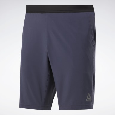 Men Training Blue Speedwick Speed Shorts