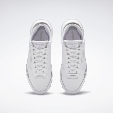 Børn Classics White Classic Leather Legacy Shoes