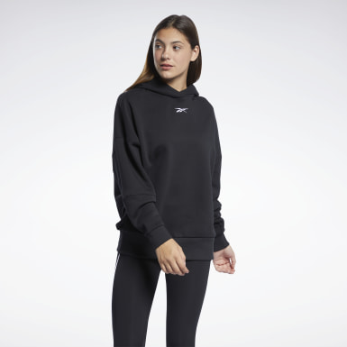 Women Yoga Black Studio Restorative Hoodie