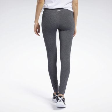 Women Yoga Grey Reebok Lux Tights 2.0
