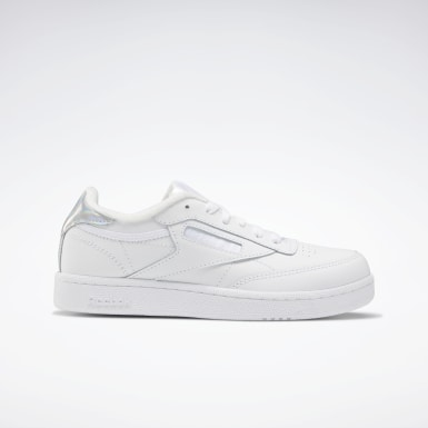 Girls Classics White Club C Shoes - Grade School