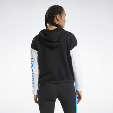 Dam Fitness & Träning Svart Training Essentials Logo Hoodie
