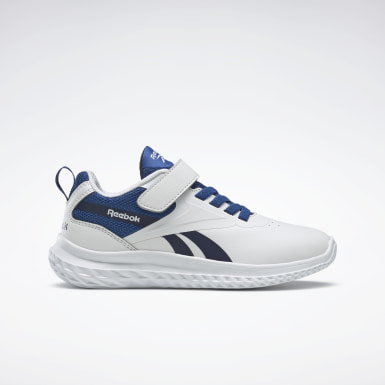 Boys Running White Reebok Rush Runner 3 Alt Shoes