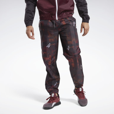 Men Fitness & Training Burgundy MYT Jogger Pants